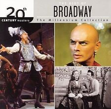 The 20th Century Masters - The Millennium Collection:  Best of Broadway -CD-NEW