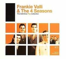The Definitive Pop Collection Frankie Valli & the 4 Seasons Music-Good Condition