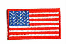 UNITED STATES OF AMERICA FLAG IRON ON / SEW ON PATCH Embroidered Badge PT67 USA