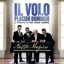IL VOLO With Placido Domingo NOTTE MAGICA A Tribute To 3 Tenors CD/DVD NTSC NEW