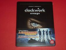 A Clockwork Orange by S. Kubrick Blu Ray Steelbook Ltd. 1/4 Slip Korean Edition