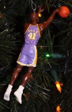 LOS ANGELES LAKERS GLEN RICE PURPLE JERSEY CUSTOM CHRISTMAS ORNAMENT