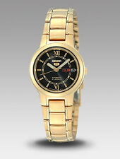 #COD Seiko 5 Ladies SYME78K1 Gold Toned Automatic Watch