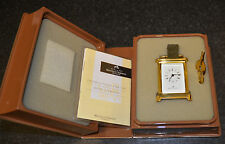 Beautiful Matthew Norman Minature Brass Carriage Clock - Boxed with Instructions