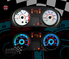 RENAULT TRAFFIC VAN INTERIOR SPEEDO WHITE DIAL KIT LIGHT BULB DASH UPGRADE