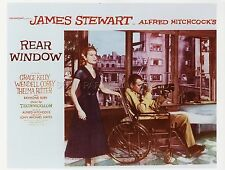 GRACE KELLY JAMES STEWART HITCHCOCK REAR WINDOW 1954 VINTAGE PHOTO R80 #16