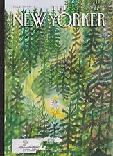 AUG 2 2010 NEW YORKER vintage magazine - BIKE RIDING IN FOREST