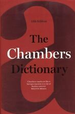 The Chambers Dictionary by Chambers of Editors (2014, Hardcover)