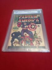 CAPTAIN AMERICA #100 CBCS 7.0!  NOT CGC! OW/W PAGES! MEGA KEY ISSUE! HAIL HYDRA!