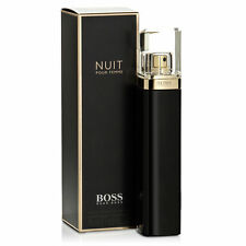Hugo Boss Nuit Pour Femme Eau De Parfum Spray Women Ladies New Sealed Free P&P