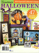 """""""HALLOWEEN""""~Counted Cross Stitch PATTERN MAGAZINE~2014 Special Issue~47 Designs"""