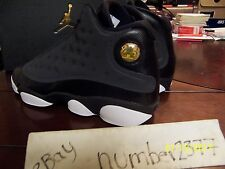 NEW 2017 Retro Nike Air Jordan XIII Black Anthracite 3M size 7.5Y