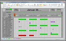 Excel Urlaubsplaner 2016 2017 und für alle weiteren Jahre keine weiteren Kosten