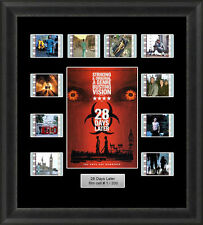 28 DAYS LATER FRAMED FILM CELL MEMORABILIA  ZOMBIE