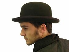 Campbell Cooper Brand New Bowler Hat London City English Horse Black Medium 58cm