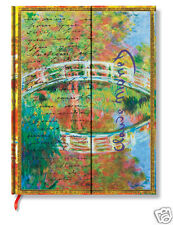 Paperblanks Blank Lined Writing Journal Letter Morisot Monet Ultra Size 7X9 New