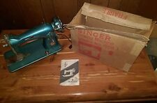 Vintage Singer sewing machine Model 15CH.BR Belvedere & Original Box with Manual