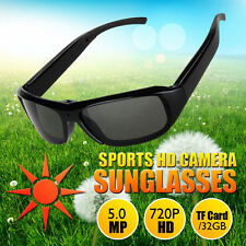 HD Polarized Video Spy Camera Sun Glasses Digital Audio Recorder DV Camcorder TF