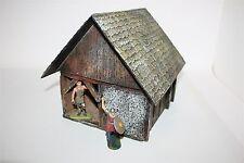 Völkerwanderung Haus 1556, für 7cm Figuren, GMK Diorama Zubehör, Germanen