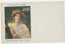 Collection Job, Calendrier 1905, P. Gervais Postcard, B382