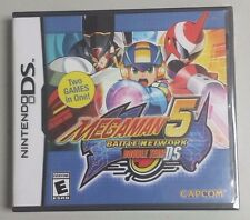 MEGAMAN BATTLE NETWORK 5 DOUBLE TEAM NDS US VERSION - FREE SHIPPING WORLDWIDE