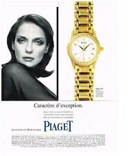 PUBLICITE   1995   PIAGET  COLLECTION MONTRES REF POLO