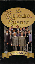 "THE CATHEDRAL QUARTET....""A REUNION""......NEW HTF LIVE GOSPEL CONCERT VHS VIDEO"