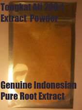 Tongkat Ali 200:1 Extract Powder 25g - Genuine Indonesian Pure Root Extract