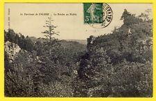 cpa 14 - Environs de FALAISE POTIGNY (Calvados) La BRÈCHE au DIABLE