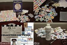 World Stamp Collection BLOWOUT Starter Kit + Software + Lift Fluid + EyeLoupe