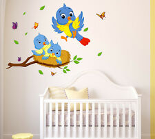 Wall Stickers Happy Birds Family Wall Decor For Kids Room 6400017