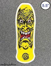 Santa Cruz Rob Face Skateboard Sticker 5.5in si