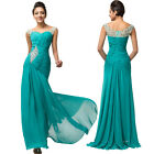 STOCK Formal Long Prom Evening Party Bridesmaid Wedding Dress 6 8 10 12 14 16 18