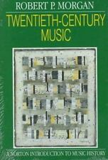 Twentieth-Century Music: A History of Musical Style in Modern Europe a-ExLibrary