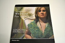 Buch The Ashford Book of  Weaving For Knitters Rowena Hart 65 Seiten