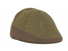 New with Tags Brown Houndstooth Drivers Beret Hat Size S/M Retail $24.99 ____B12