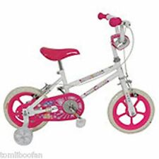 "Girls Sparkle & Glitz Daisy 12"" Inch Bike with Stabilisers**New**"