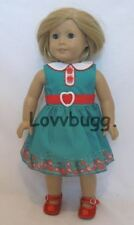 """Meet Garden Blooms Dress fits 18"""" American Girl Doll Clothes Kit Best Selection"""