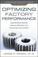 Optimizing Factory Performance : Cost-Effective Ways to Achieve Significant...