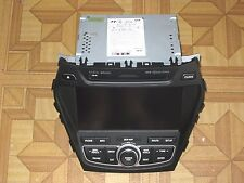 Hyundai SANTA FE Navigation XM HD Radio AUX MP3 Bluetooth, 96560-4Z1124X, OEM