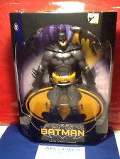 "DC UNIVERSE SUPERHEROES BLACK AND GREY BATMAN 12"" INCH ACTION FIGURE BRAND NEW"