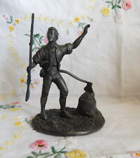 THE FIRST CITIZEN FIGURINE THE AMERICAN PEOPLE FRANKLIN MINT
