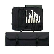 PROFESSIONAL CHEF 10 POCKET CUTLERY KNIFE POUCH CARRYING BAG CASE HOLDER