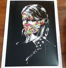 Sandra Chevrier Martin Whatson Art Print Poster Screen La Cage et les deux âmes