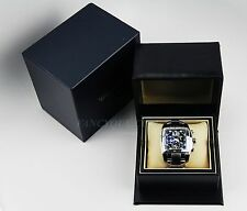 CHOPARD TWO O TEN CHRONOGRAPH SS 15 8961 46MM XLARGE WATCH 50M NEW BOX  $12K
