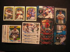 2013 TOPPS #1 TEXAS RANGERS MASTER TEAM SET 26 CARDS  WITH NOLAN RYAN THE GREATS