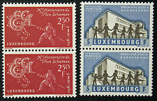 LUXEMBOURG timbres/Stamps Yvert et Tellier n°578 et 579 x2 (a) n** (cyn8)