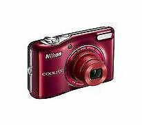 Nikon COOLPIX L30 20.1 MP Digital Camera - Red