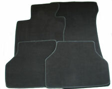 BMW E60 E61 Black Floor Mats by OE Manufacturer from March 2007 Left Hand Drive