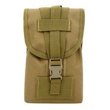 Men Nylon Belt Hip Bum Waist Pack Cell phone pocket Hunting Tactical Accessory
